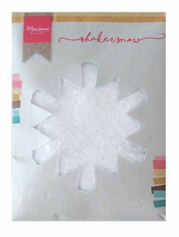 Marianne Design shaker snow kimallelumi 50g LR0028