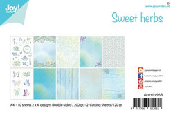 Joy Craft Sweet Herbs paperisetti 12kpl a4