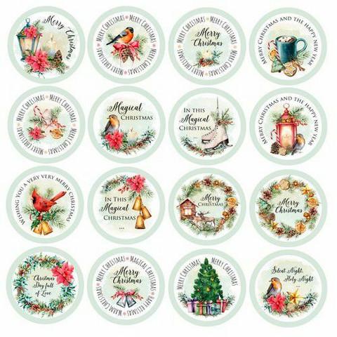 Craft & You die-cuts korttikuvat Christmas Vibes 11 30,5x30,5cm
