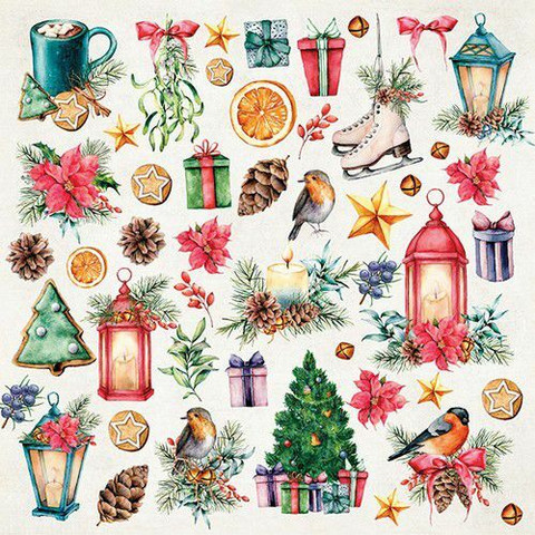 Craft & You leikekuvat Christmas Vibes 07 30,5x30,5cm