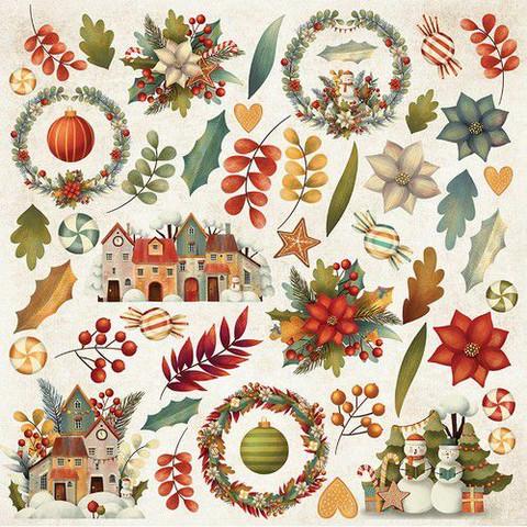 Craft & You leikekuvat Colors of Christmas 07 30,5x30,5cm