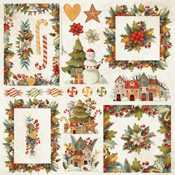 Craft & You leikekuvat Colors of Christmas 08 30,5x30,5cm