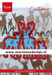 Marianne Design stanssit Creatable Tiny's Deer Family LR0615