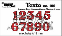 Crealies numerostanssit numbers medium CLTX199