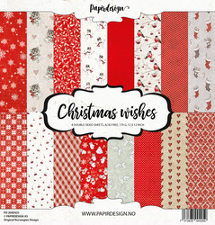 Papirdesign Christmas wishes paperikko 30,5x30,5cm