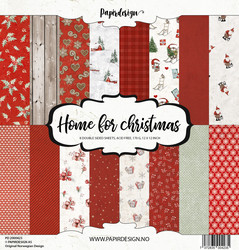 Papirdesign Home for Christmas paperikko 30,5x30,5cm