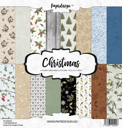 Papirdesign Christmas paperikko 30,5x30,5cm