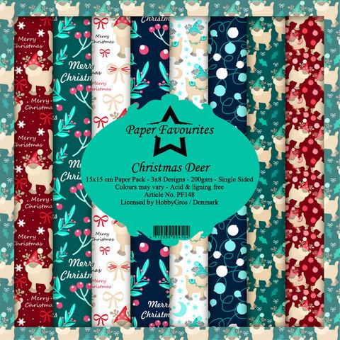HG paperikko Christmas Deer 6x6