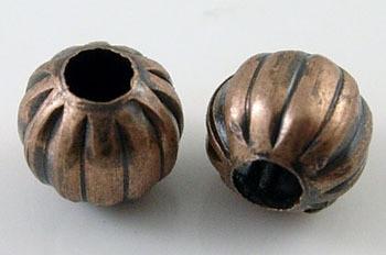 Metallihelmi urilla kupari 8mm 30kpl