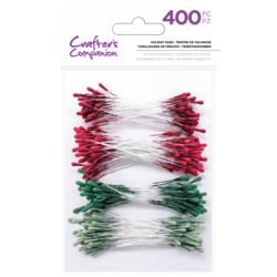 Crafter's Companion Flower Stamens Holiday Hues heteet 400kpl