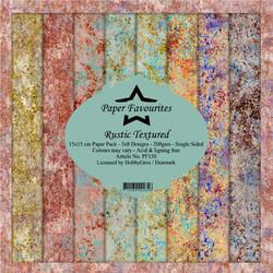 HG paperikko Rustic Textures 6x6