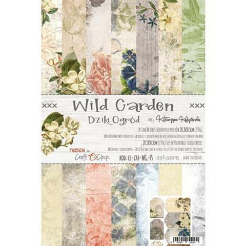Craft O´clock paperikko Wild Garden a4