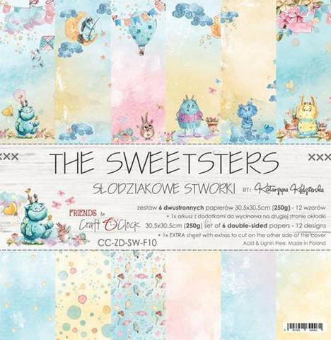 Craft O´Clock The Sweetsters paperisetti 30,5x30,5cm 6kpl