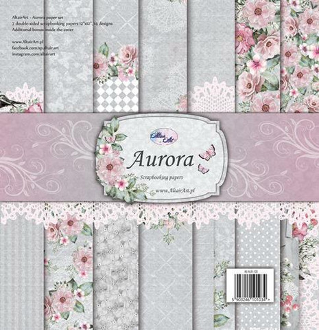 Altair Art Aurora paperisetti 12x12