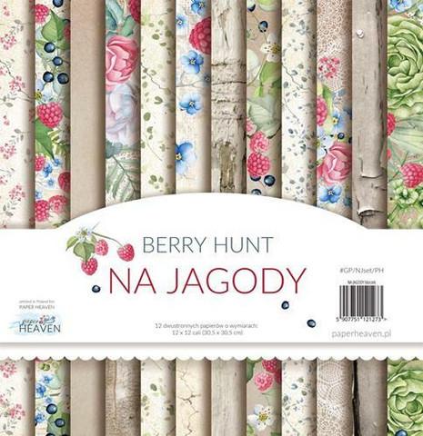 Paper Heaven Berry Hunt paperisetti 12x12