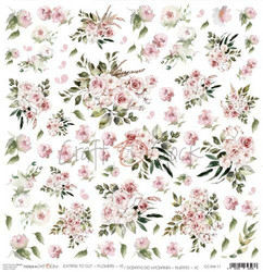 Craft O´Clock Flowers XI -  Extras to cut 10 30,5x30,5cm