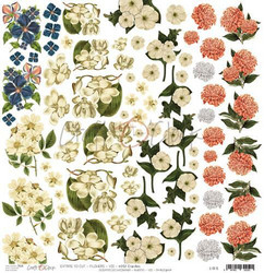 Craft O´Clock Flowers VII Wild Garden -  Extras to cut 10 30,5x30,5cm