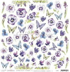 Craft O´Clock Flowers X -  Extras to cut 10 30,5x30,5cm
