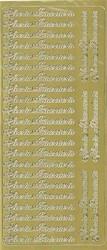 Ääriviivatarrat Iloista Pääsiäistä kulta 9368