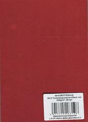 Korttipohjat a6 tummanpunainen 25kpl JK Primeco