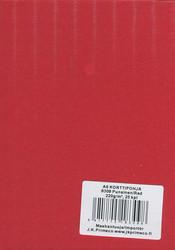 Korttipohjat a6 punainen 25kpl JK Primeco