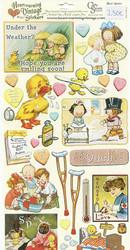Crafty Secrets vintage tarrat Feel Better