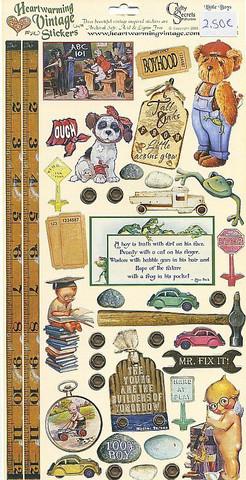 Crafty Secrets vintage tarrat Little Boys