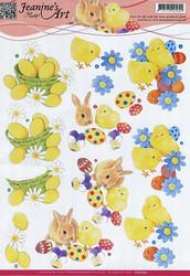 3d-kuvat Pääsiäinen Jeanine´s Art a4