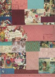 Victorian Valentine paperikko a5
