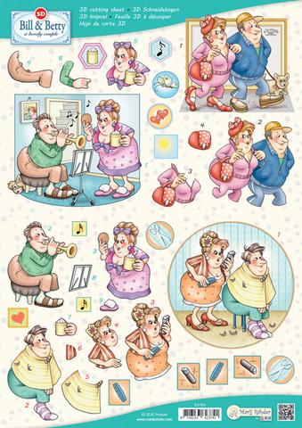 3d-kuvat Bill & Betty a Lovely Couple 63 Marij Rahder a4