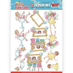 Stanssatut 3d-kuvat Bubbly Party Girls Yvonne Creations sb10439