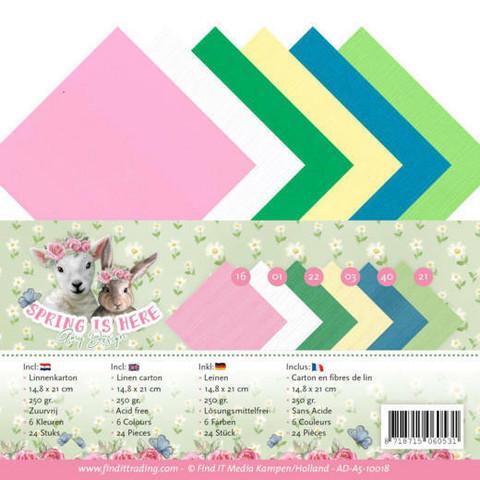 Tekstuurikartongit Amy Design Spring is here a5