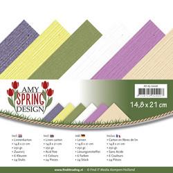 Tekstuurikartongit Amy Design Spring a5