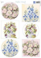 Marianne Design korttikuvat Mattie's Mooiste Field Flowers MB0191 A4