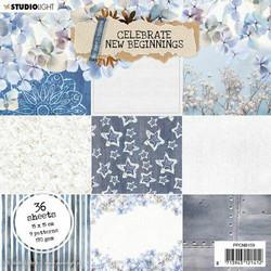 Studiolight paperilehtiö Celebrate new beginnings nr.159 6x6