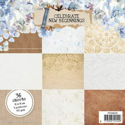 Studiolight paperilehtiö Celebrate new beginnings nr.160 6x6