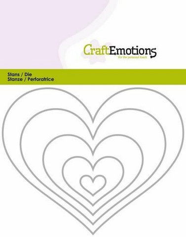 CraftEmotions stanssit edges heart 5kpl