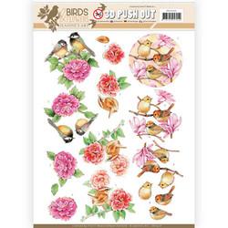 Stanssatut 3d-kuvat Birds & Flowers Jeanine´s Art sb10320