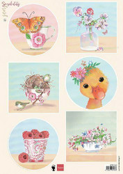 Marianne Design korttikuvat Sensibility Duck EWK1282 a4