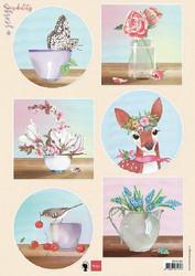 Marianne Design korttikuvat Sensibility Deer EWK1283 a4