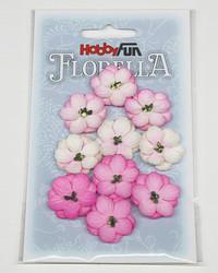 Florella koristekukat vaaleanpunainen 10kpl 015