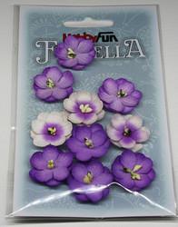 Florella koristekukat violetti 10kpl 043