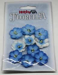 Florella koristekukat sininen 10kpl 044