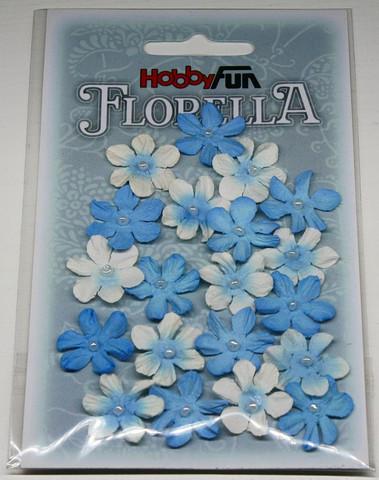 Florella koristekukat sininen 20kpl 034