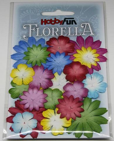 Florella koristekukat värimix 1 20kpl