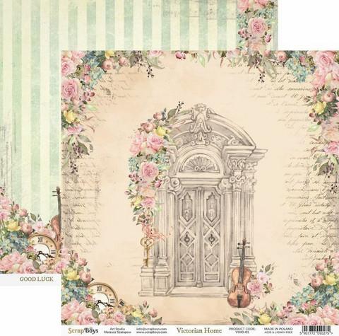 ScrapBoys paperi Victorian Home 01 30,5x30,5cm