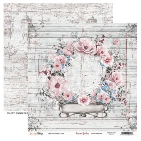 ScrapBoys paperi Dream Garden 03 30,5x30,5cm