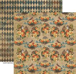 ScrapBoys paperi Industrial Romance 04 30,5x30,5cm