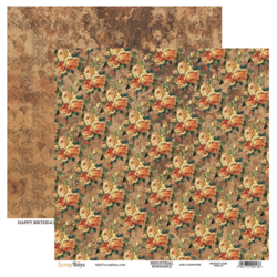 ScrapBoys paperi Industrial Romance 05 30,5x30,5cm
