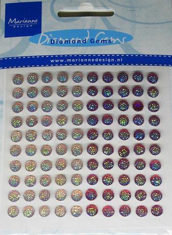 Koristetimantittarralla punamix Marianne Design 100kpl